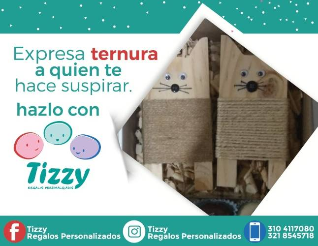 Tizzy Regalos Personalizados: un detalle de acuerdo a tu estilo de vida