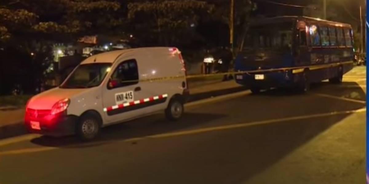 Rompevidrios murió arrollado por el conductor que amenazaba