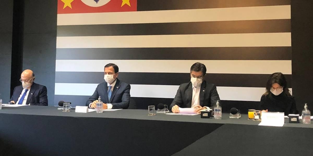 Doria e Maia avaliam como positiva a reunião de Bolsonaro com governadores