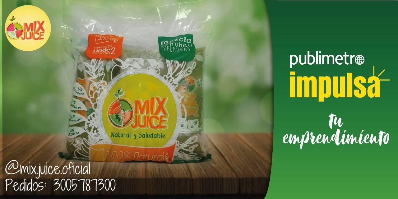 Mix Juice: una mezcla jugosa de frutas y hortalizas