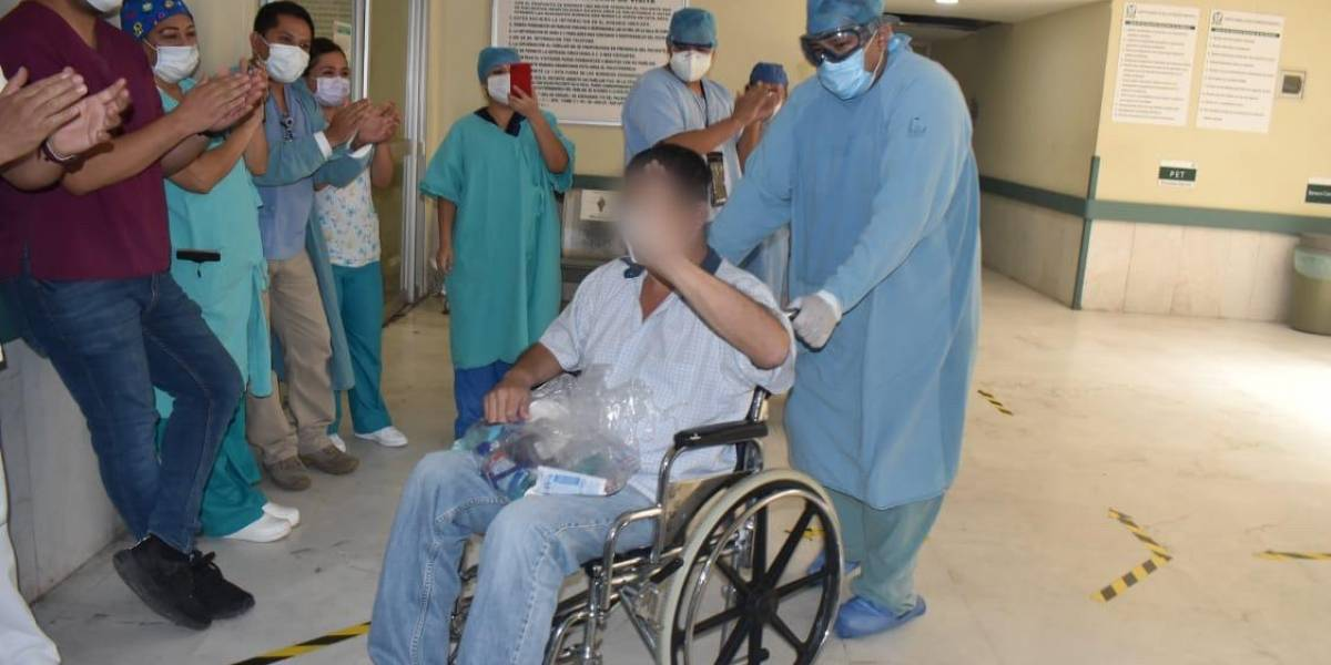 Logra vencer al Covid-19 tras 20 días intubado