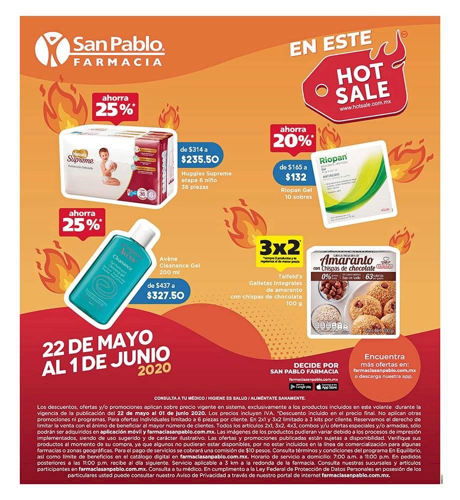 Anuncio Farmacia San Pablo edición CDMX del 22 de mayo del 2020, Página 05