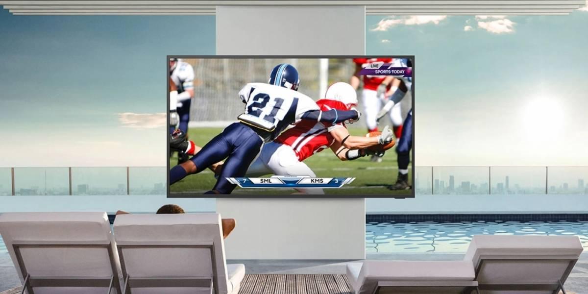Portaltic.-Samsung anuncia el televisor para exteriores The Terrace, resistente al agua y con pantalla antirreflectante