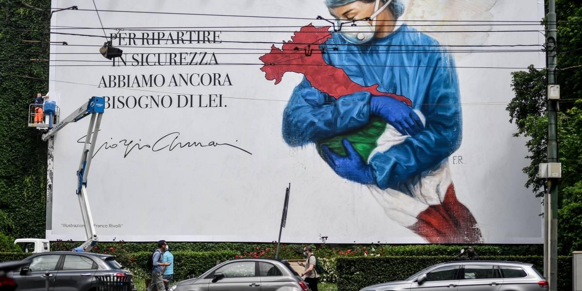 Coronavirus.- Italia suma otros 130 fallecidos mientras que los ingresados en la UCI caen por debajo de los 600