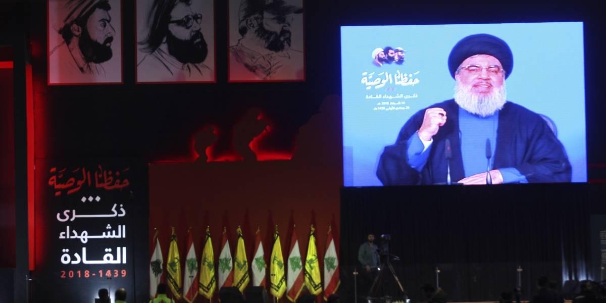 """O.Próximo.- El líder de Hezbolá asegura que """"la liberación de Jerusalén se acerca"""" y pide no mantener lazos con Israel"""
