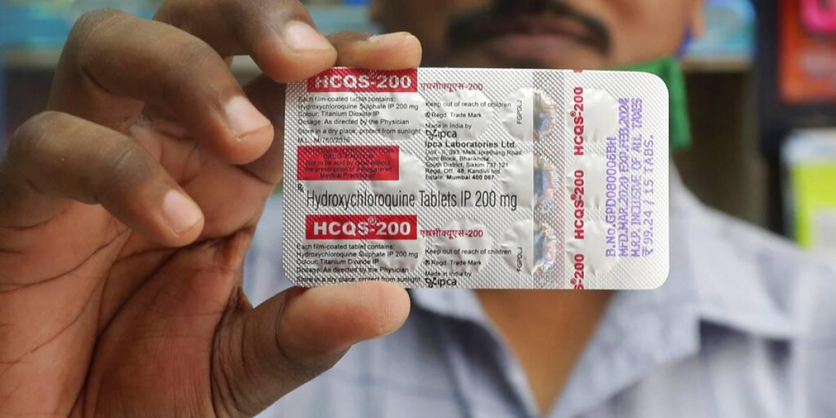 Estudio amplía dudas sobre antimaláricos contra COVID-19