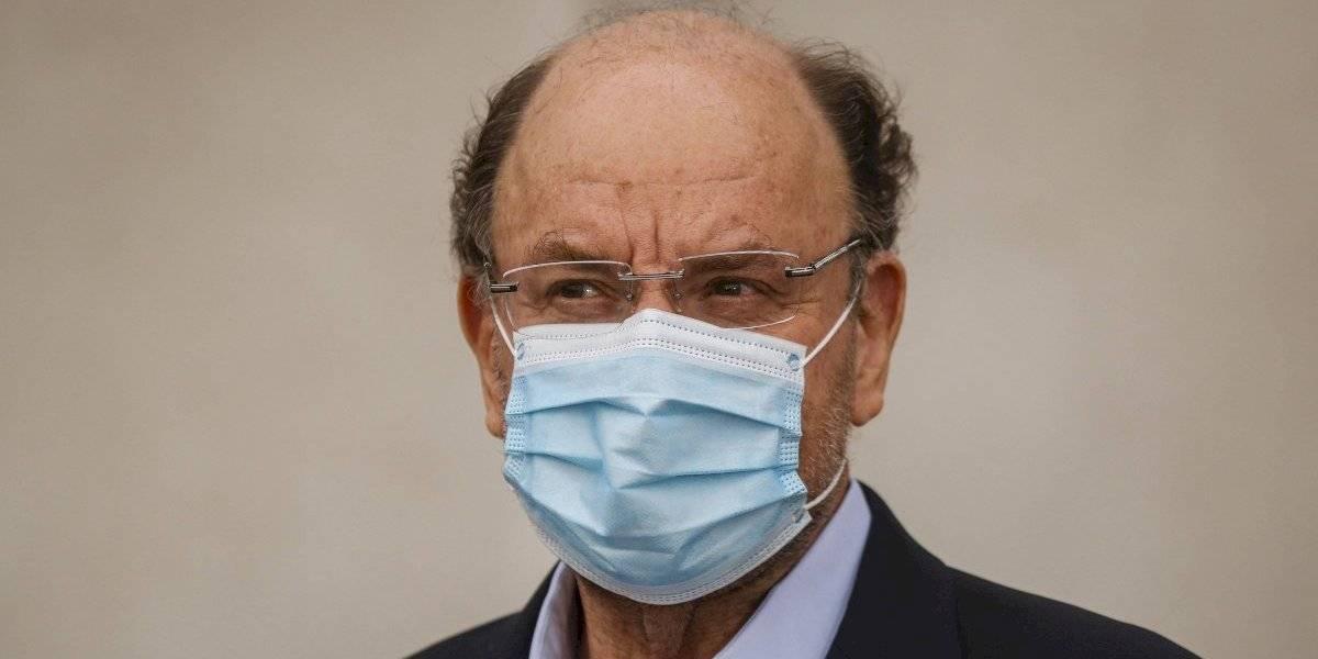 Por precaución: el ministro de Obras Públicas Alfredo Moreno comenzó cuarentena por coronavirus