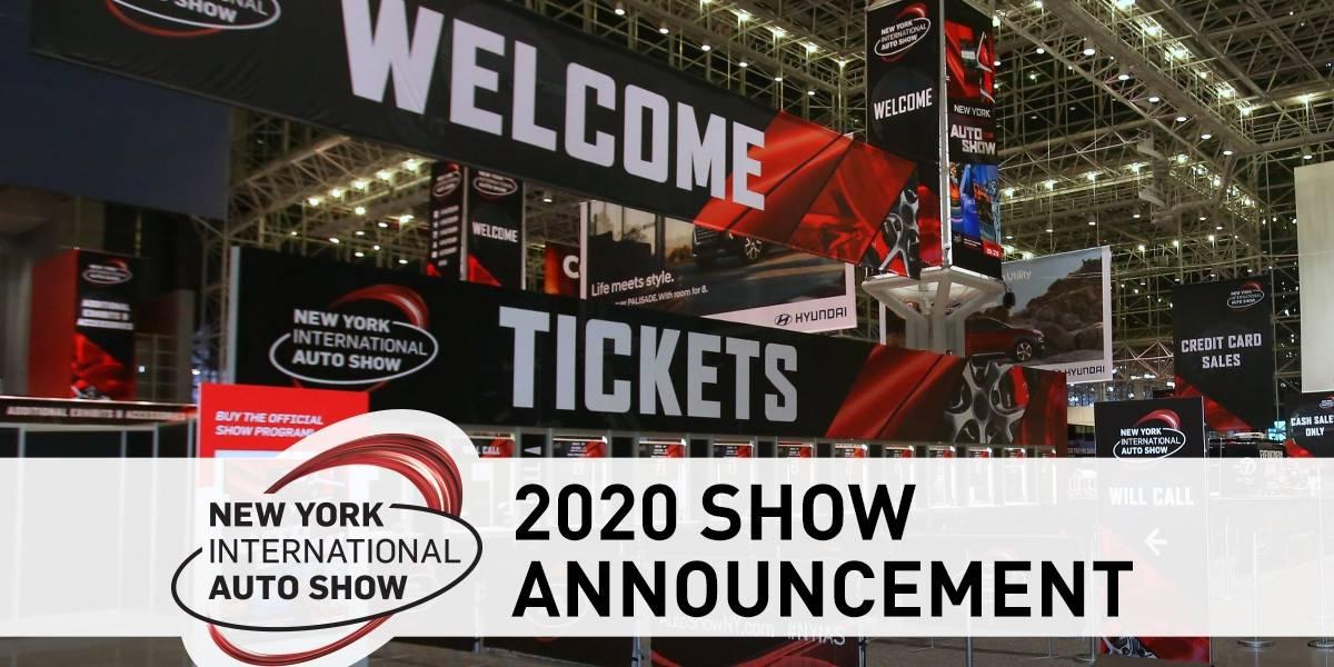 El Auto Show de Nueva York 2020 está cancelado