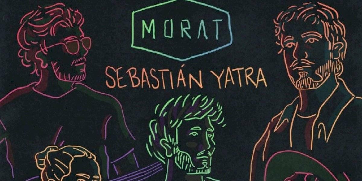 """Morat y Sebastián Yatra presentan """"bajo la mesa"""", su primera colaboración"""