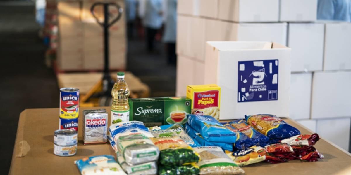 """""""Alimentos para Chile"""": todo lo que tienes que saber sobre la caja con alimentos que entregará el Gobierno ante la crisis del coronavirus"""