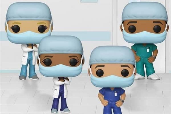 """¡Atención coleccionistas! Funko Pop lanzará figuras dedicadas a los """"héroes de la primera línea de la salud"""""""