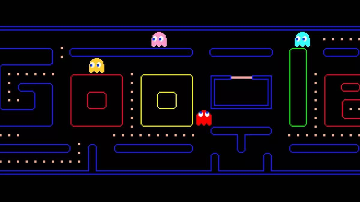 Google Doodle Pac Man