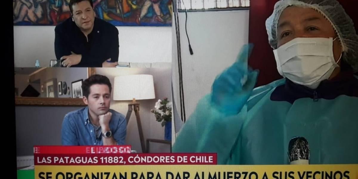 Julio César Rodríguez se emociona con potente mensaje de pobladora en una olla común