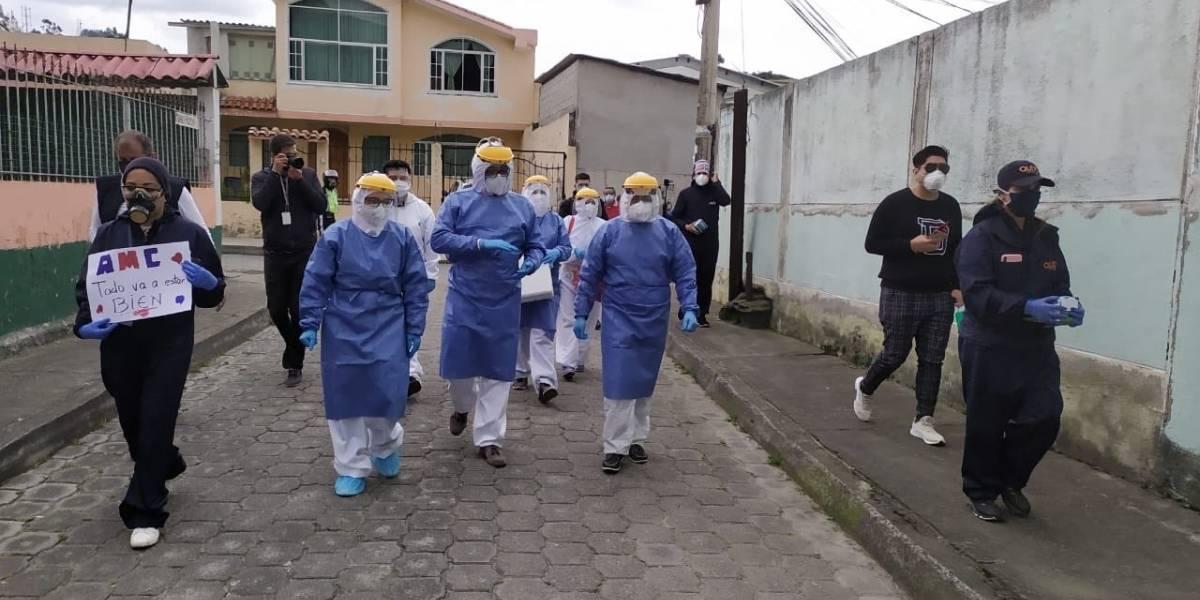 Ecuador reporta 1.229 nuevos contagios de COVID-19 en 24 horas