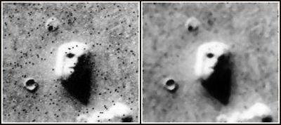El rostro en Marte