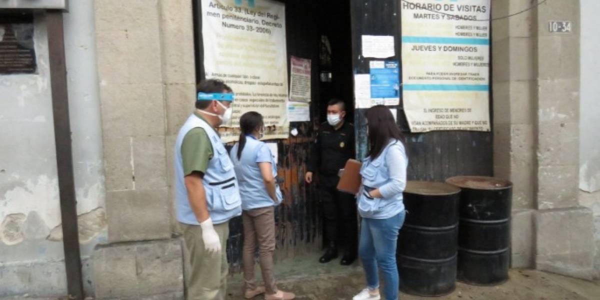 Trasladarán a Fraijanes II a reo con COVID-19 del Centro Preventivo para Hombres de Quetzaltenango