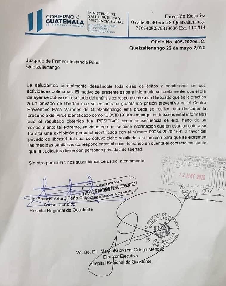 Preventivo Quetzaltenango