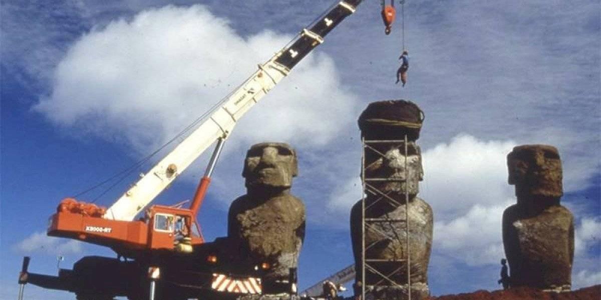 El secreto del terremoto de Valdivia: tsunami destruyó moais en Rapa Nui