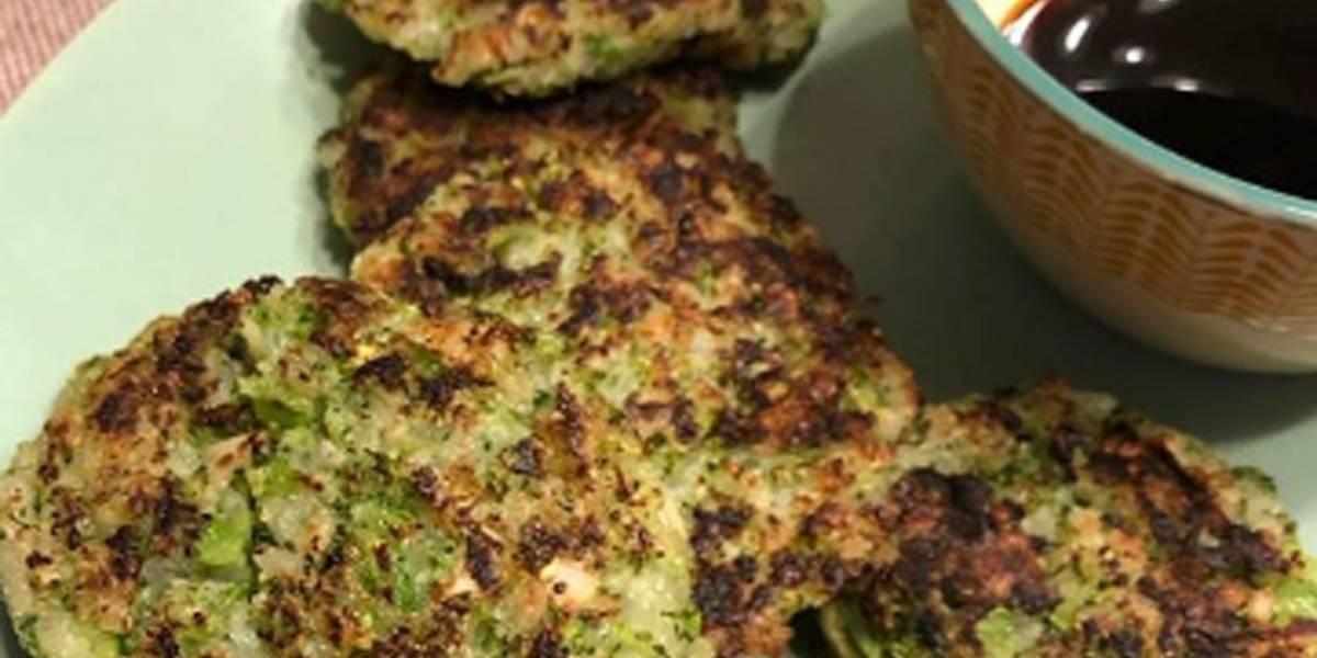Tortitas de brócoli con queso: Un plato muy nutritivo