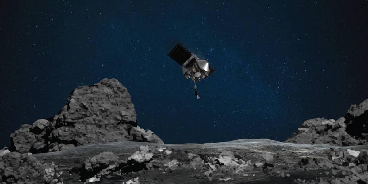 Sonda OSIRIS-REx da NASA fará 'pouso de coleta' no gigantesco Bennu; asteroide está em rota de colisão com a Terra
