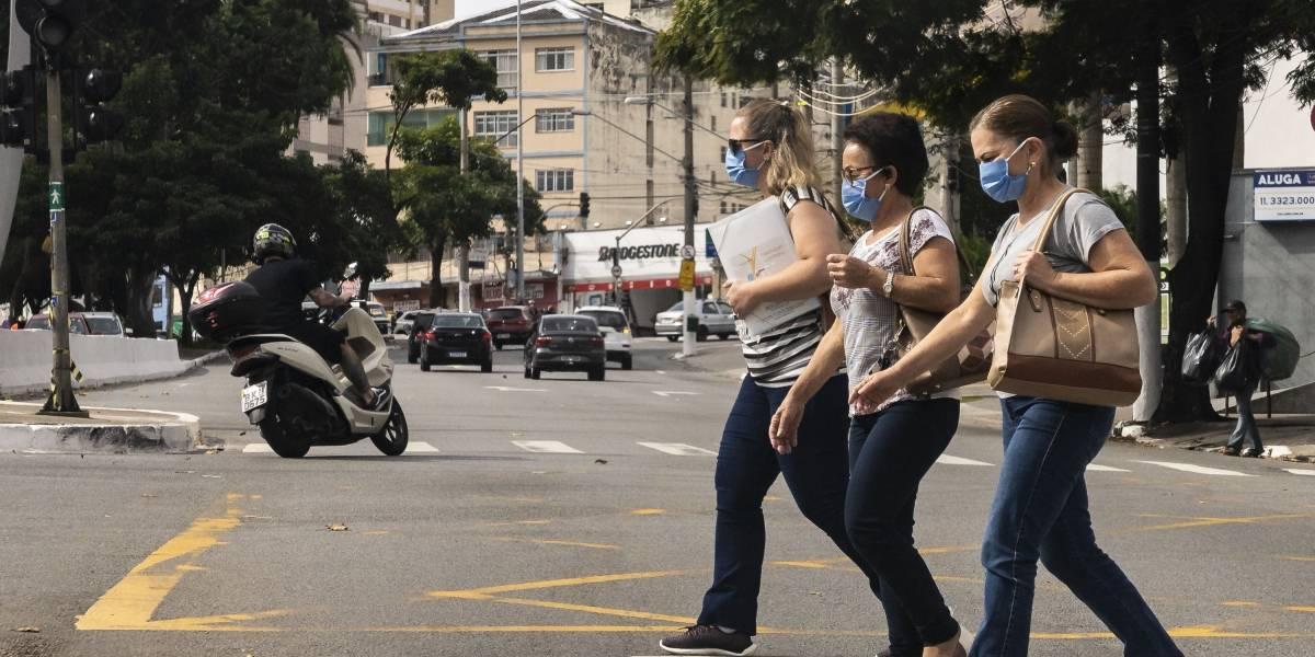 Cidade de São Paulo tem 49% de isolamento social na sexta