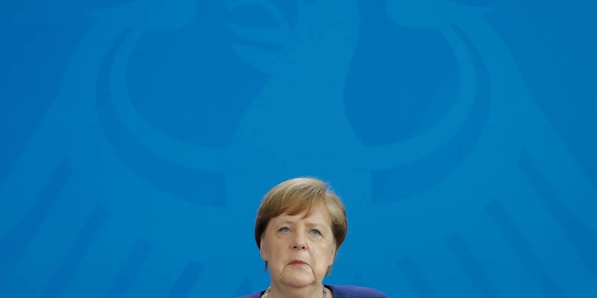 Coronavirus.- Merkel reconoce la limitación de derechos para combatir el coronavirus como un mal temporal y necesario