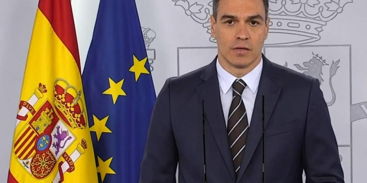 """AV.- Fútbol.- Pedro Sánchez: """"A partir de la semana del 8 de junio volverá LaLiga"""""""