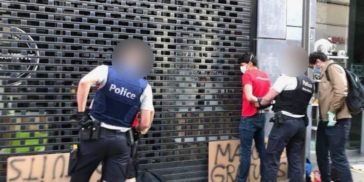 Coronavirus.- Activistas belgas denuncian que fueron detenidos mientras repartían mascarillas gratis