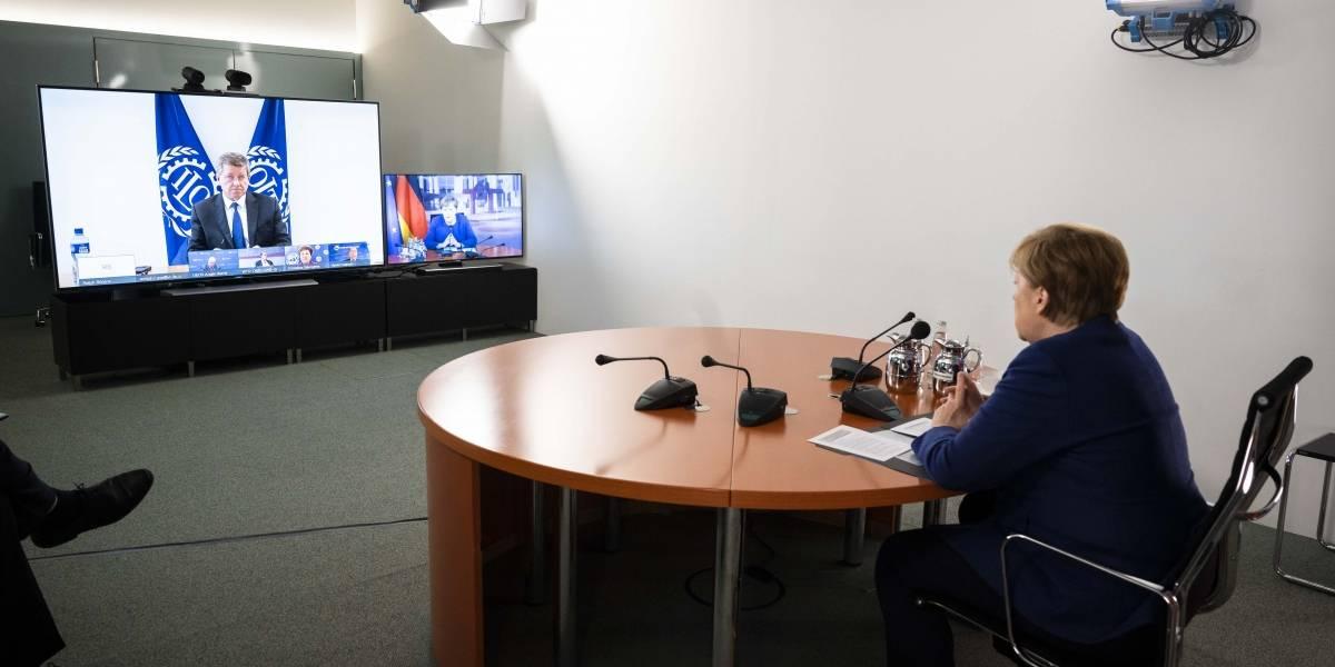 Alemania.- Los conservadores de Merkel encabezan la intención de voto en Alemania con más de 20 puntos de ventaja