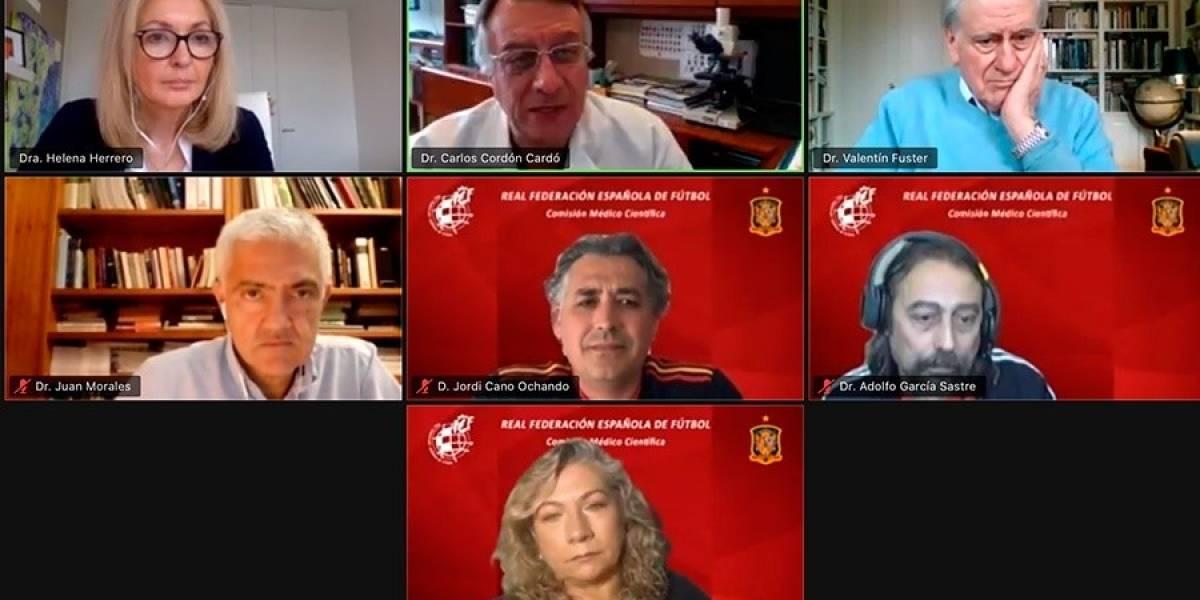 Fútbol.- El cardiólogo Valentín Fuster, ponente de lujo en las jornadas médico-científicas de la RFEF