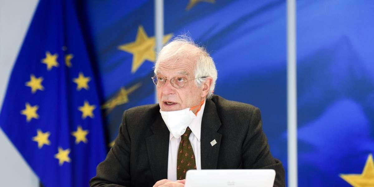 UE/Turquía.- Borrell aborda con el ministro de Exteriores turco la situación en Oriente Próximo
