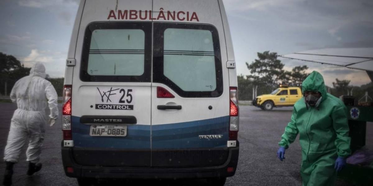 ¡Atención! Brasil se acerca a los 350.000 casos de covid-19