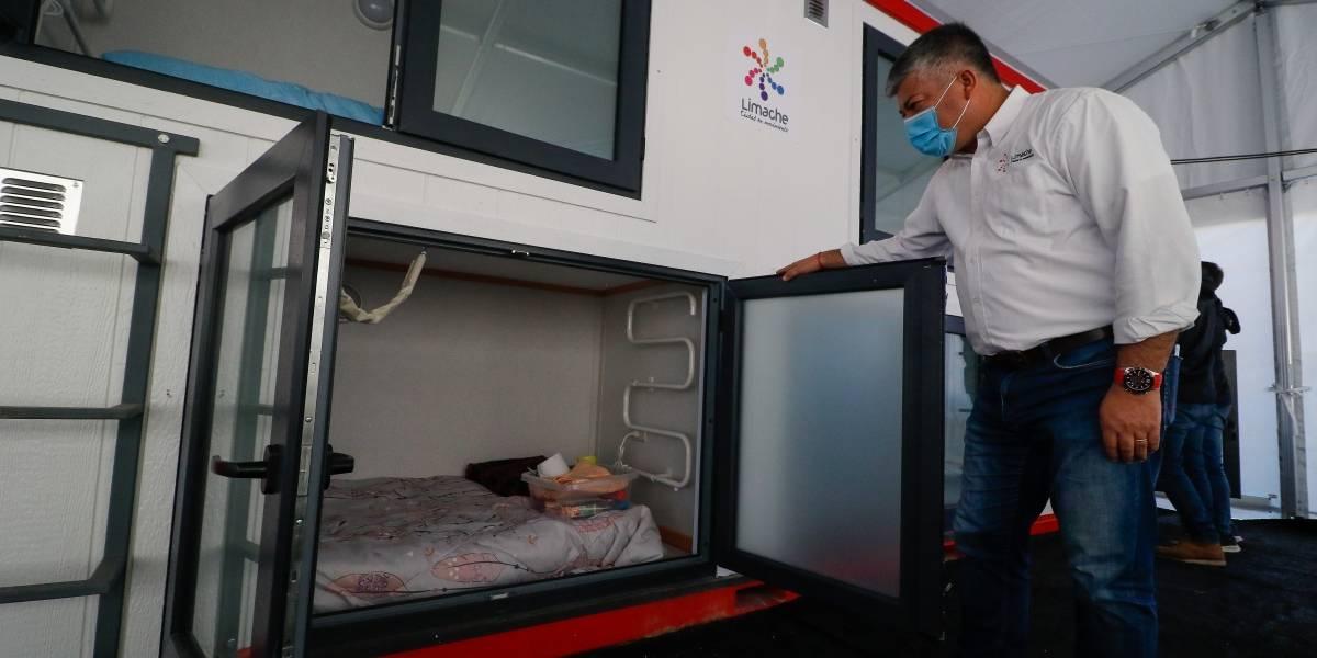 Los novedosos albergues móviles en Limache para personas en situación de calle