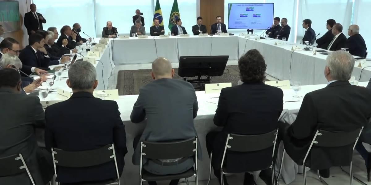 As principais falas da reunião ministerial de 22 de abril