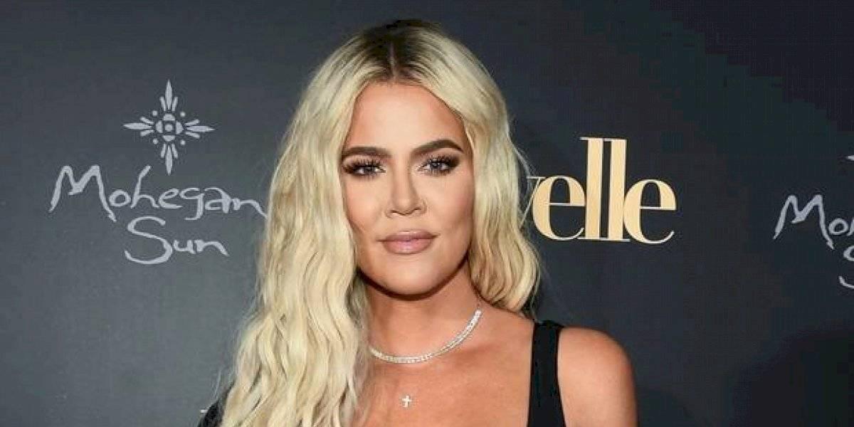 Khloé Kardashian impacta con tremendo cambio de rostro