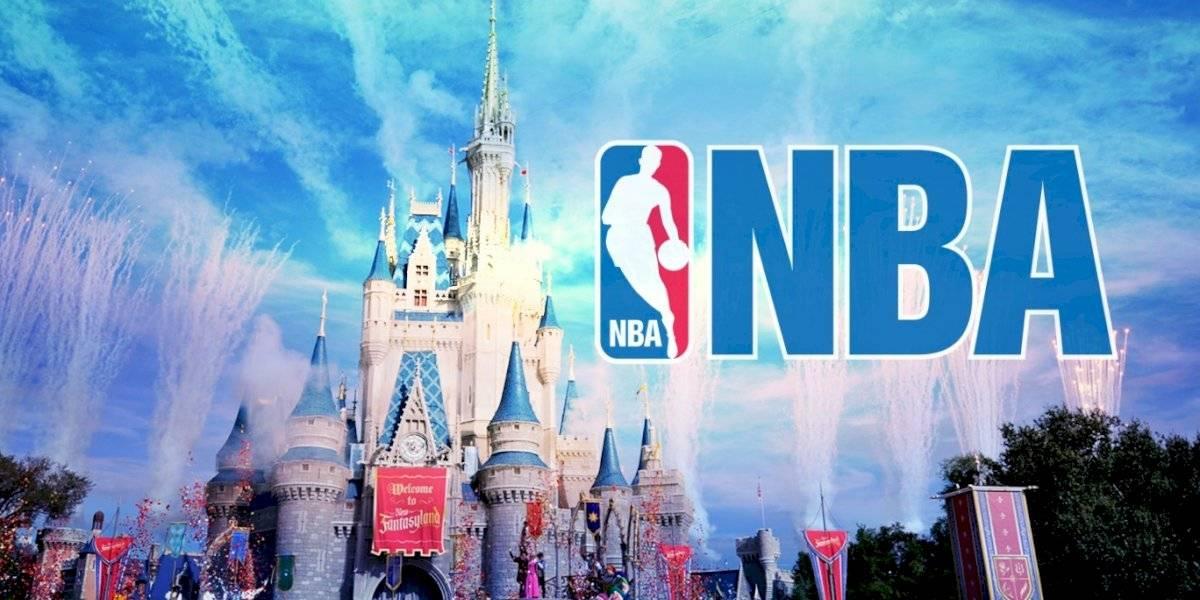NBA concluiría temporada en Disney World