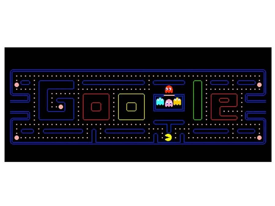 Doodle interactivo de Pac-Man