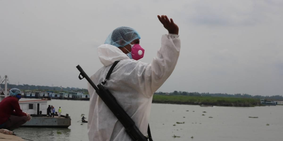 Bangladesh - Bangladesh registra su mayor incremento diario de casos de coronavirus con 1.873 contagios