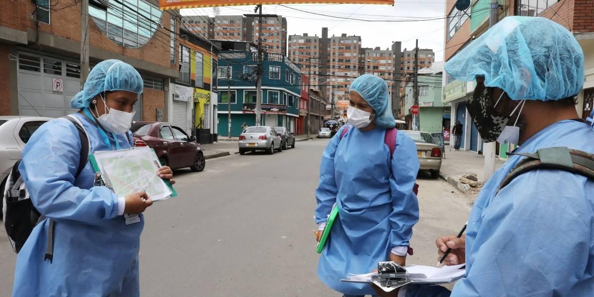 ¡Pilas! Estos son los 134 barrios en Bogotá que desde este martes entran a cuarentena estricta