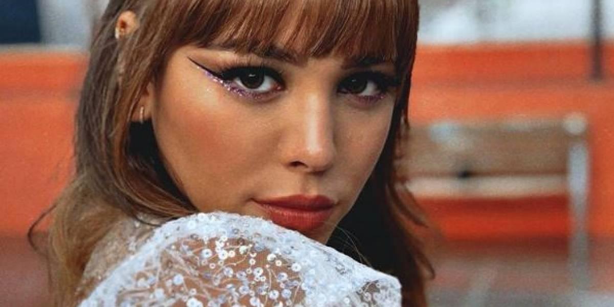 (FOTO) Danna Paola sorprendió a sus seguidores con radical cambio de look