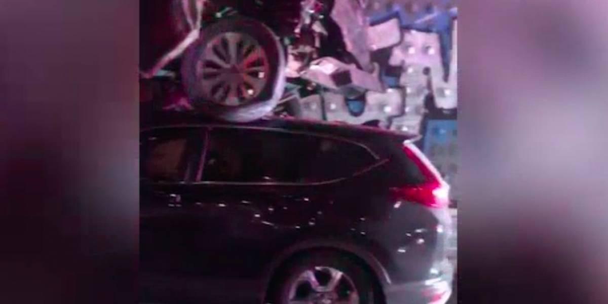 Reportan impactante accidente en la avenida Baldorioty