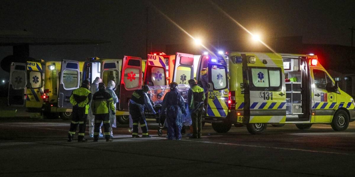 Colapsa hospital chileno por falta de camas para uso crítico