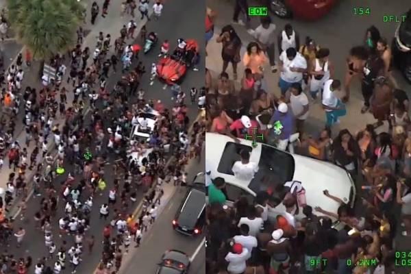 Fiesta de cuarentena en costa de Florida termina en tiroteo