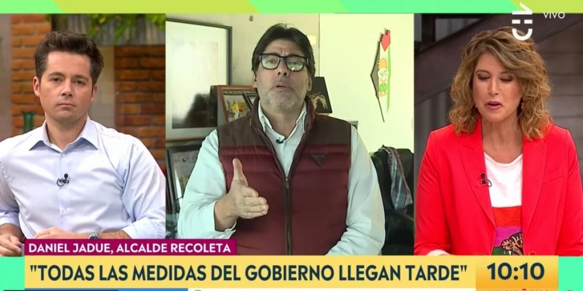 """""""Los que están acostumbrados a una vida acomodada, incluidos los rostros de TV"""": el áspero diálogo de Jadue con Pizarro y Sichel"""