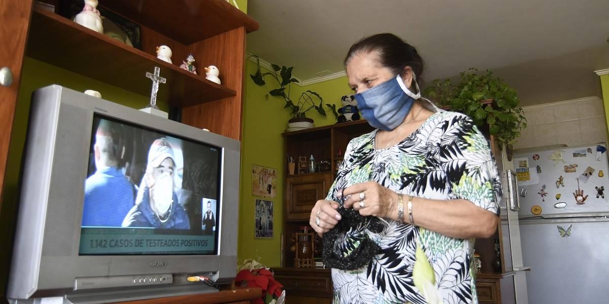 La pandemia de coronavirus nos tiene viendo casi 7 horas de televisión al día