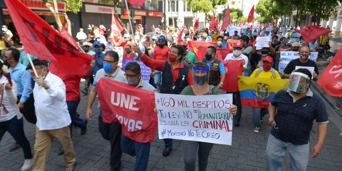 """""""Si el Gobierno quiere un nuevo octubre, nos verá a los trabajadores en las calles"""" dice expresidente de la UNE"""