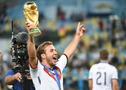 Mario Gotze, campeón mundial en Brasil 2014 Internet