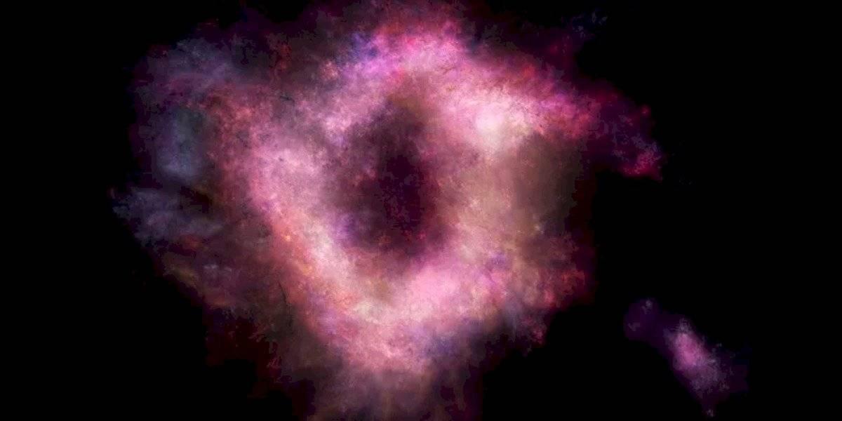 Este anillo de fuego representa una anomalía que nos ayudaría a comprender el proceso de formación de cada galaxia en el universo.
