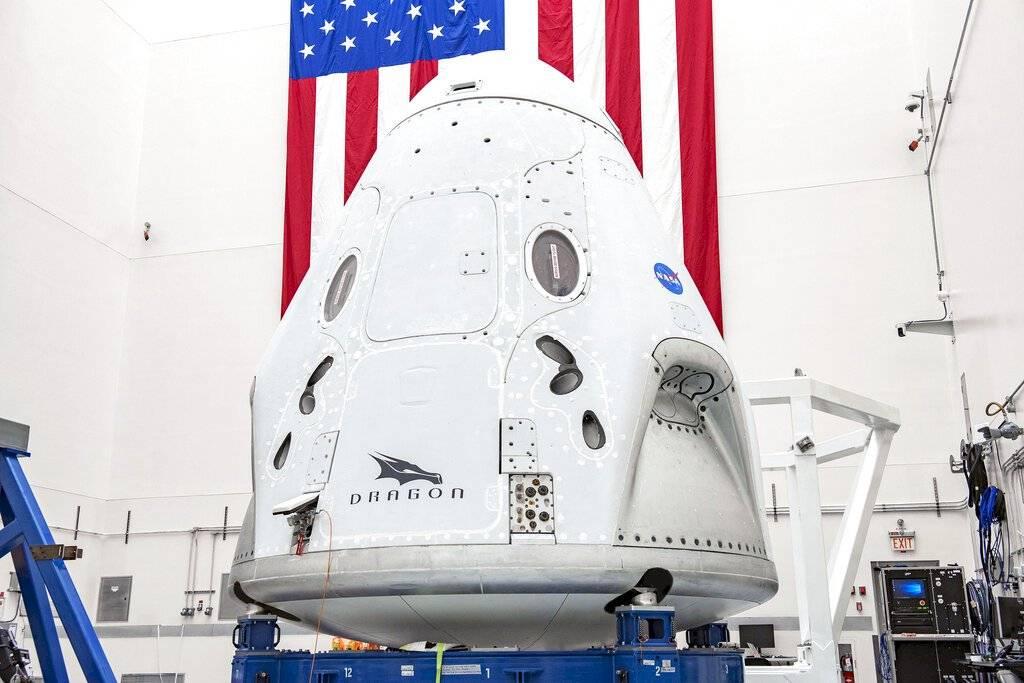 Cápsula Crew Dragon de SpaceX
