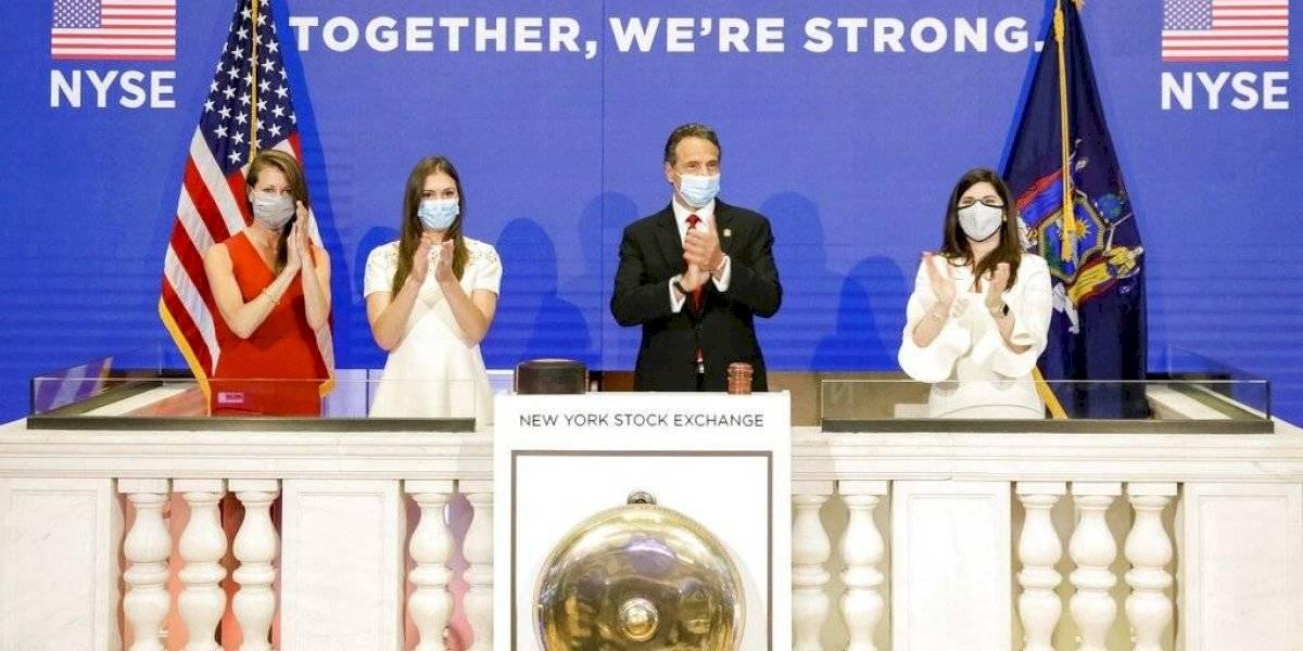 Sede de la Bolsa de Nueva York reabre tras dos meses por el coronavirus